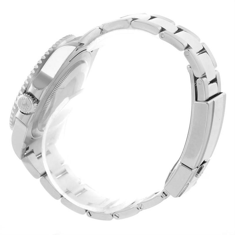 Rolex GMT Master II Ceramic Bezel Mens Steel Watch 116710 Unworn SwissWatchExpo