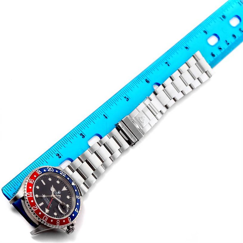 Rolex GMT Master II Blue Red Pepsi Bezel Date Watch 16710 Year 2006 SwissWatchExpo