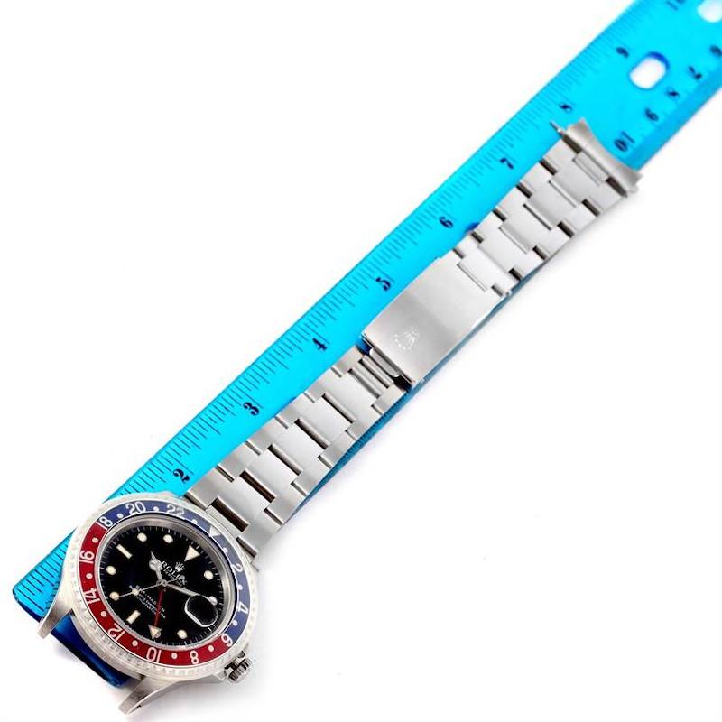 Rolex GMT Master Blue Red Pepsi Bezel Mens Watch 16700 Unworn SwissWatchExpo