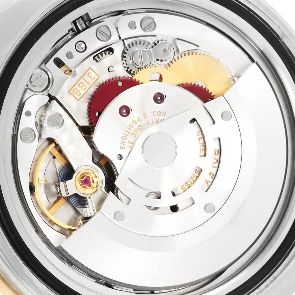 Rolex GMT Master II 18k Yellow Gold Steel Automatic Mens Watch 116713 SwissWatchExpo