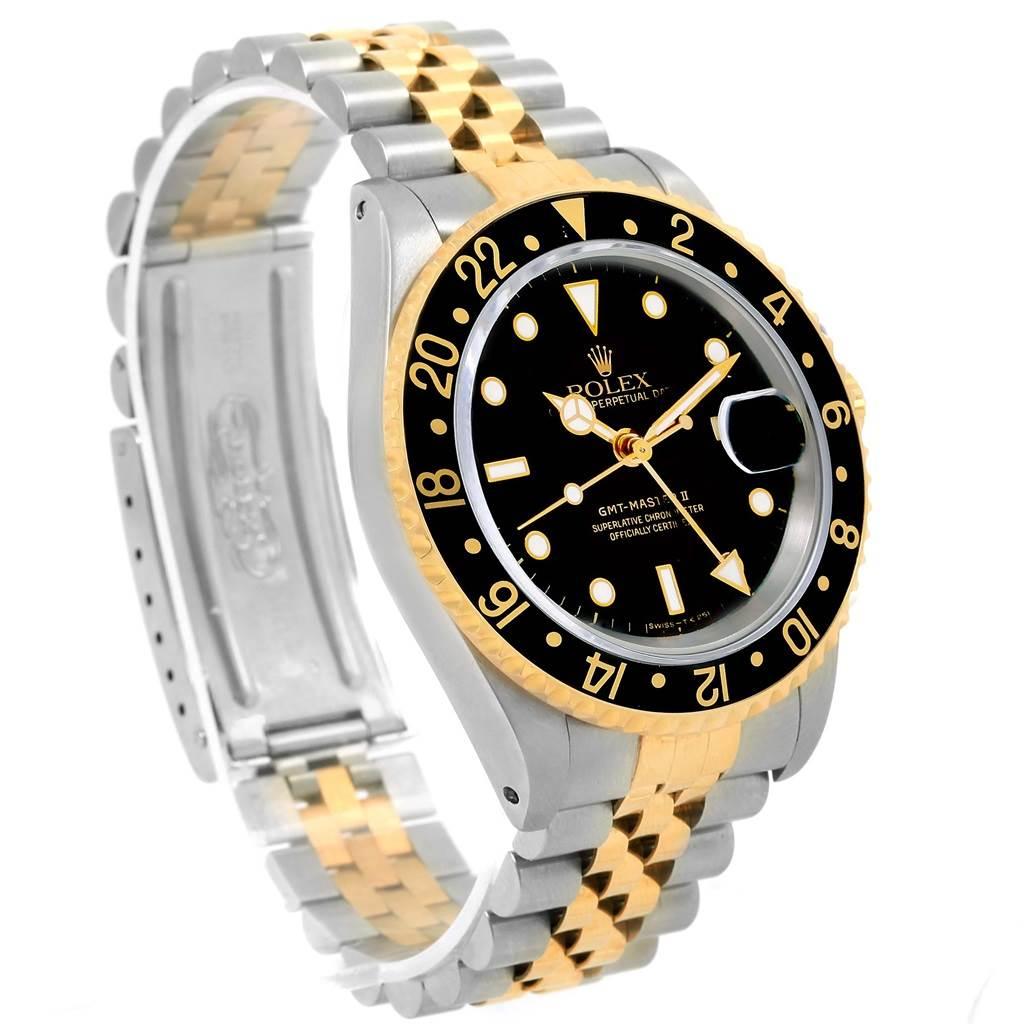 Rolex GMT Master II Yellow Gold Steel Jubilee Bracelet ...