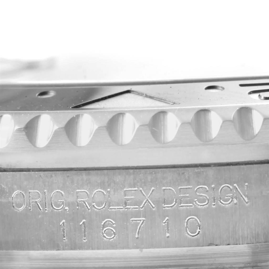 Rolex GMT Master II Ceramic Bezel Automatic Steel Mens Watch 116710 SwissWatchExpo