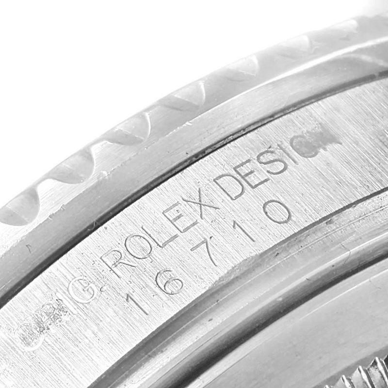 Rolex GMT Master II Pepsi Bezel Steel Automatic Mens Watch 16710 SwissWatchExpo
