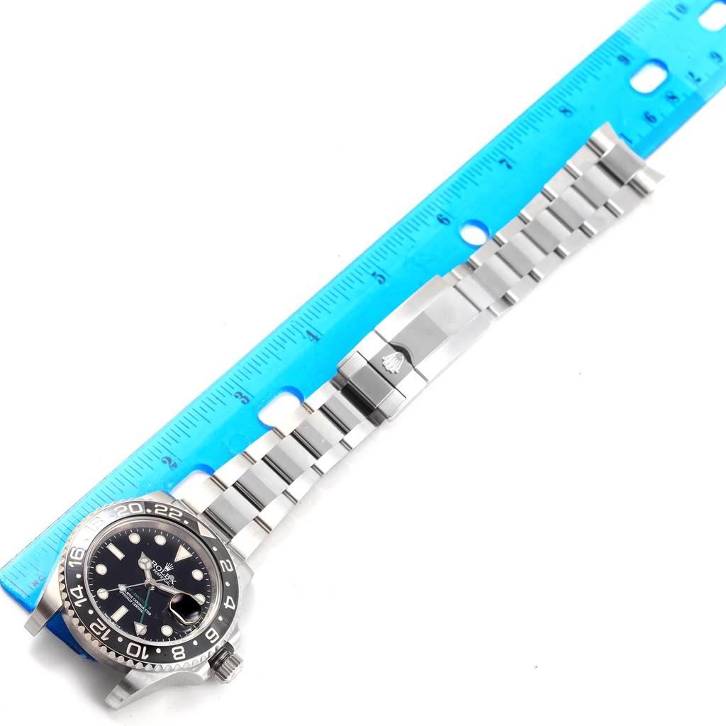 Rolex GMT Master II Black Dial Steel Mens Watch 116710 Box SwissWatchExpo