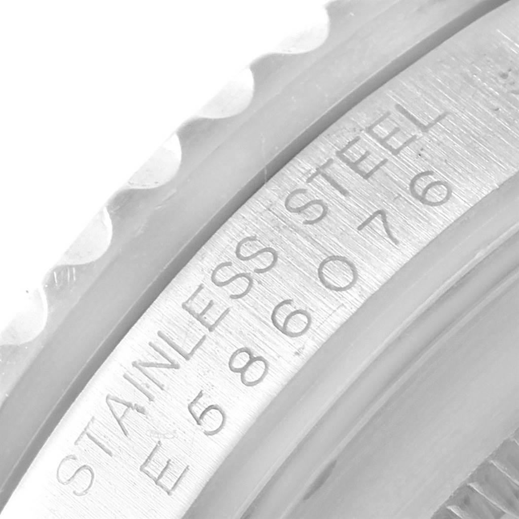Rolex GMT Master Black Bezel Leather Strap Steel Mens Watch 16700 SwissWatchExpo