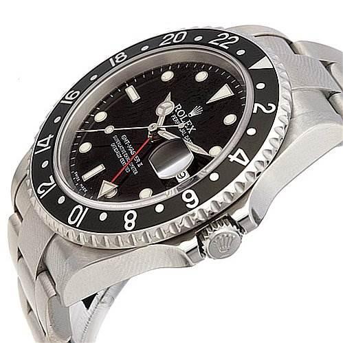 "Rolex Gmt Master Ii Mens Ss 16710 ""f"" Serial SwissWatchExpo"