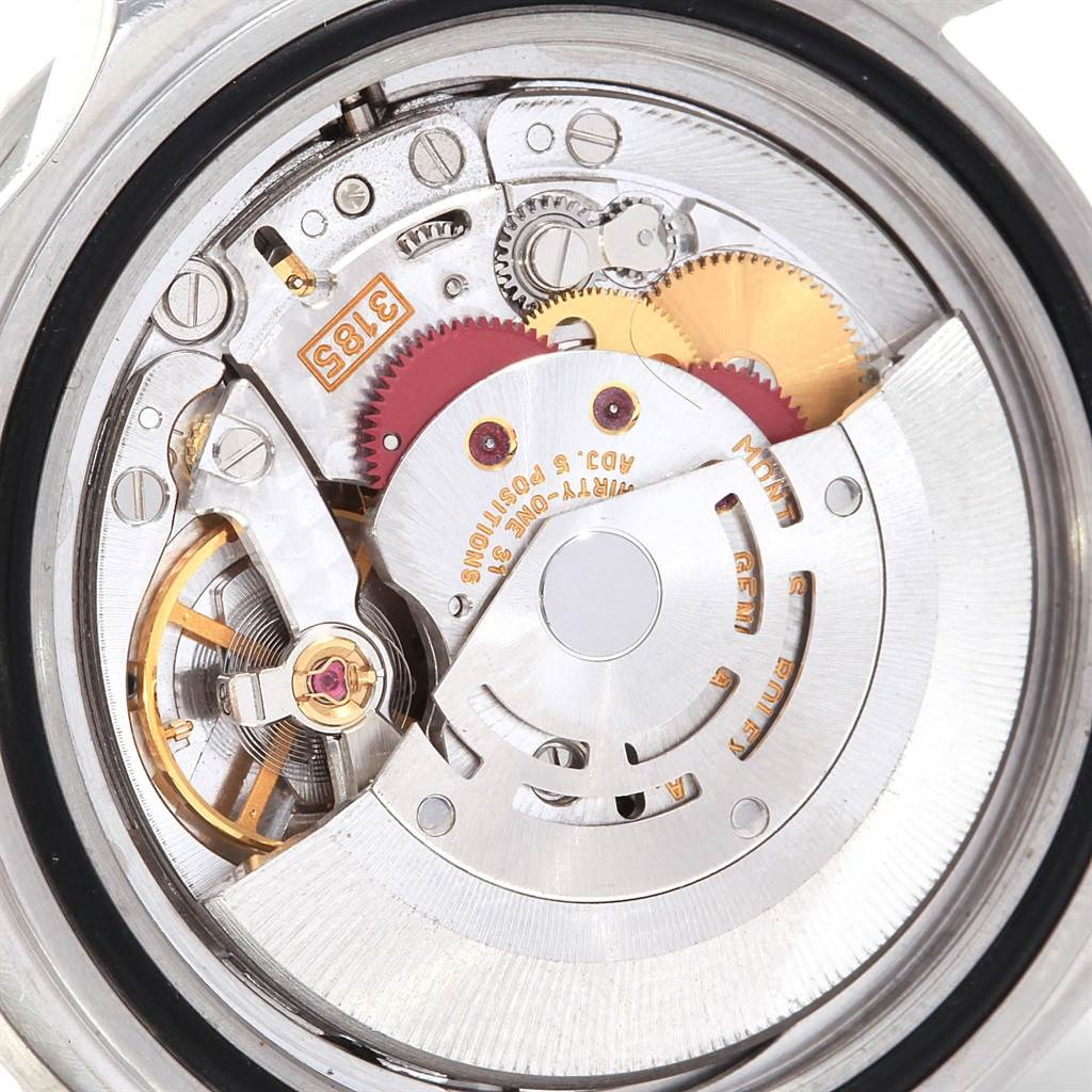 Rolex GMT Master II Black Red Coke Bezel Steel Watch 16710 Box Papers SwissWatchExpo