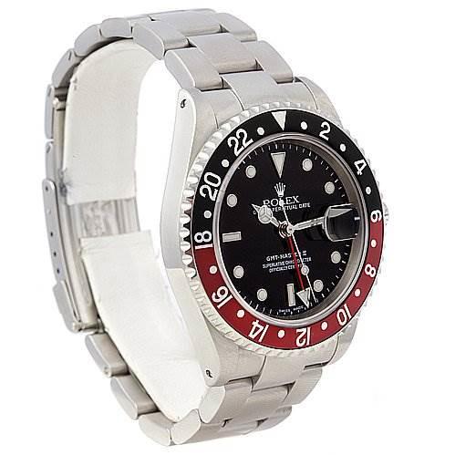 Rolex Rolex GMT Master II Mens Steel 16710 Watch SwissWatchExpo
