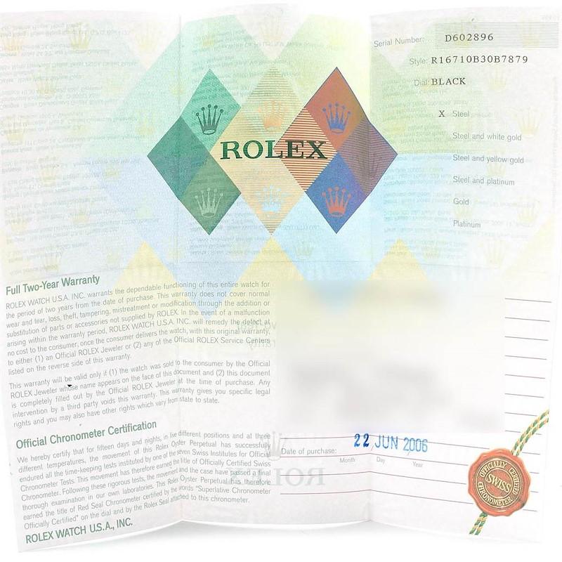 Rolex GMT Master II Blue Red Pepsi Bezel Steel Watch 16710 Box Papers SwissWatchExpo