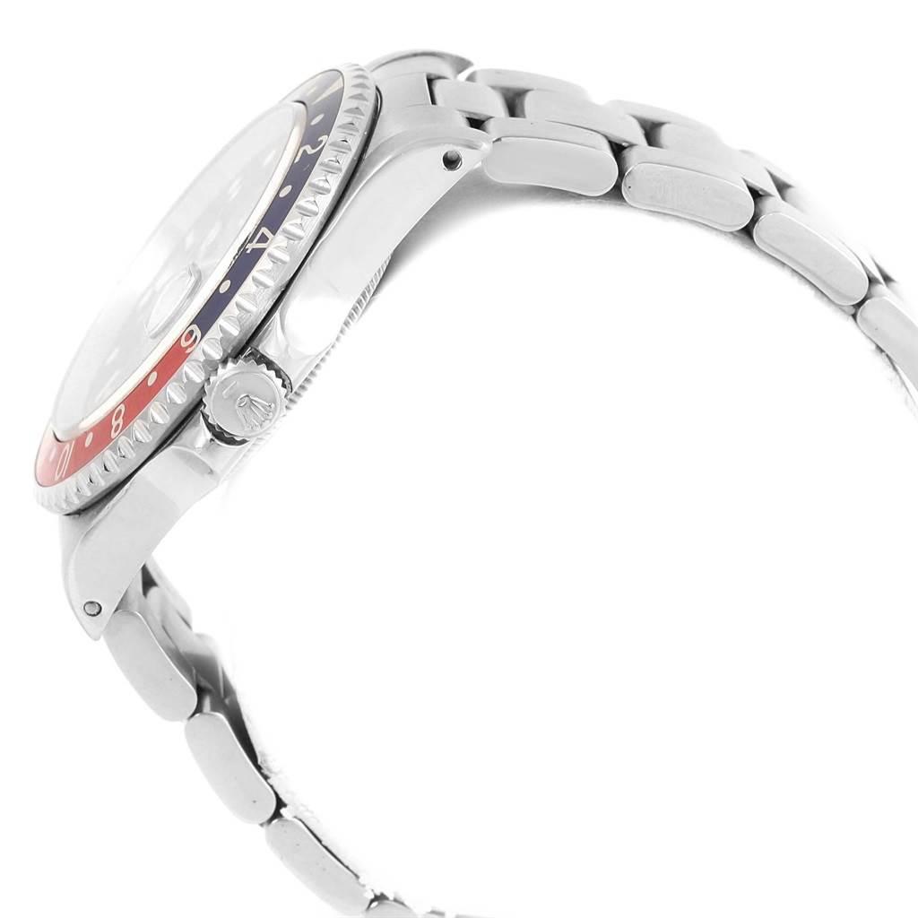 20102 Rolex GMT Master 40mm Blue Red Pepsi Bezel Mens Watch 16700 Box SwissWatchExpo