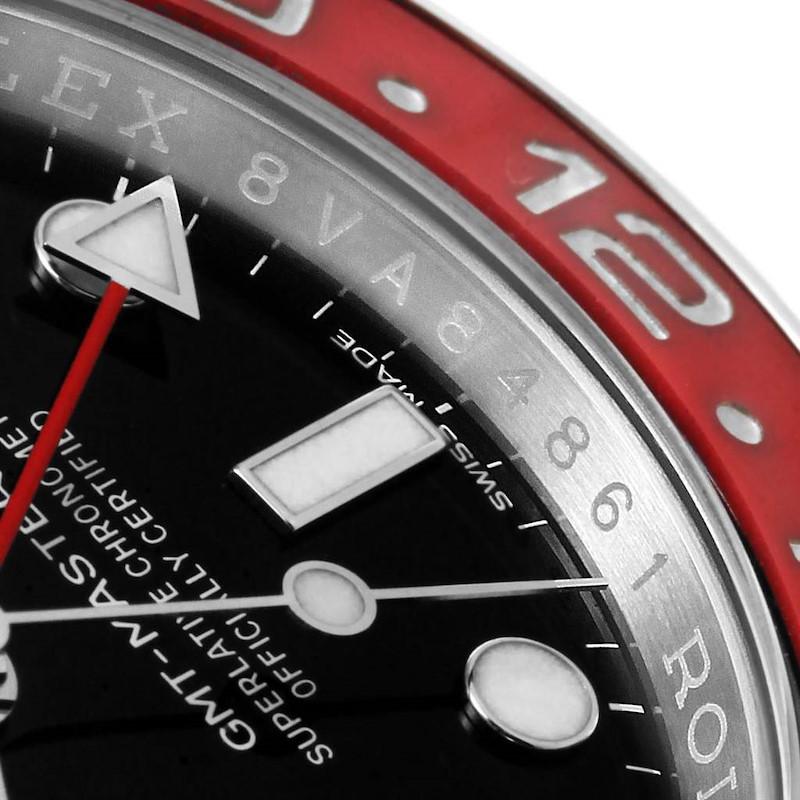Rolex GMT Master II White Gold Pepsi Bezel Mens Watch 116719 Box Card SwissWatchExpo