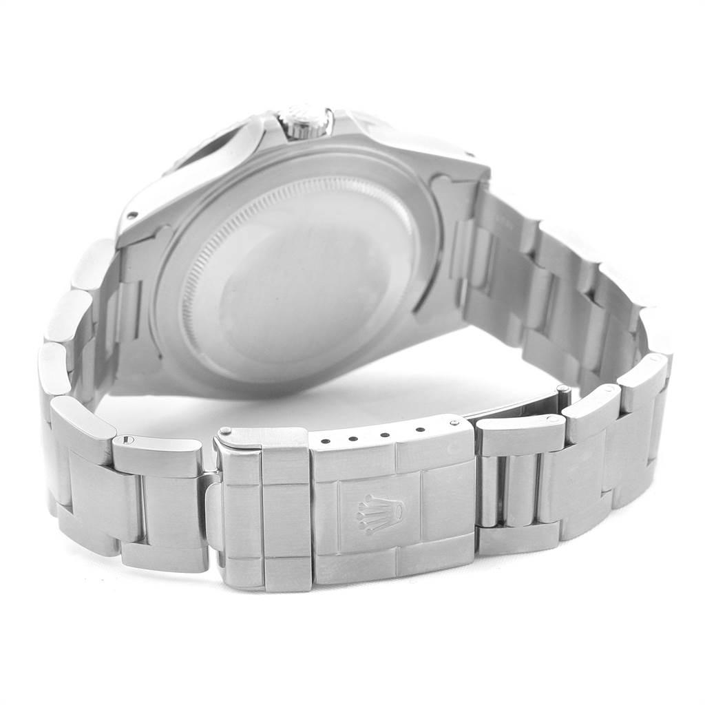 21764 Rolex GMT Master II Blue Red Pepsi Bezel Insert Watch 16710 Box Papers SwissWatchExpo