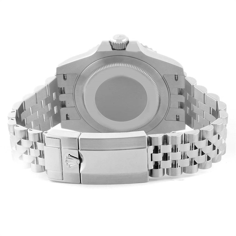 Rolex GMT Master II Pepsi Bezel Jubilee Steel Watch 126710 Box Card SwissWatchExpo