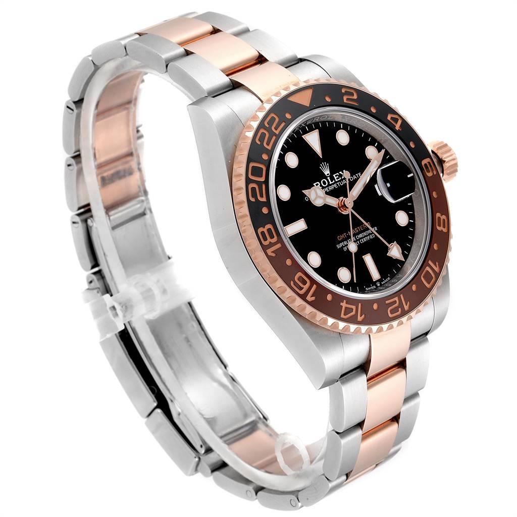 Rolex GMT Master II Steel Everose Gold Mens Watch 126711 Unworn SwissWatchExpo