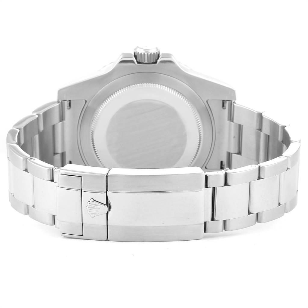 24493 Rolex GMT Master II 40mm Green Hand Mens Watch 116710 Box Card SwissWatchExpo