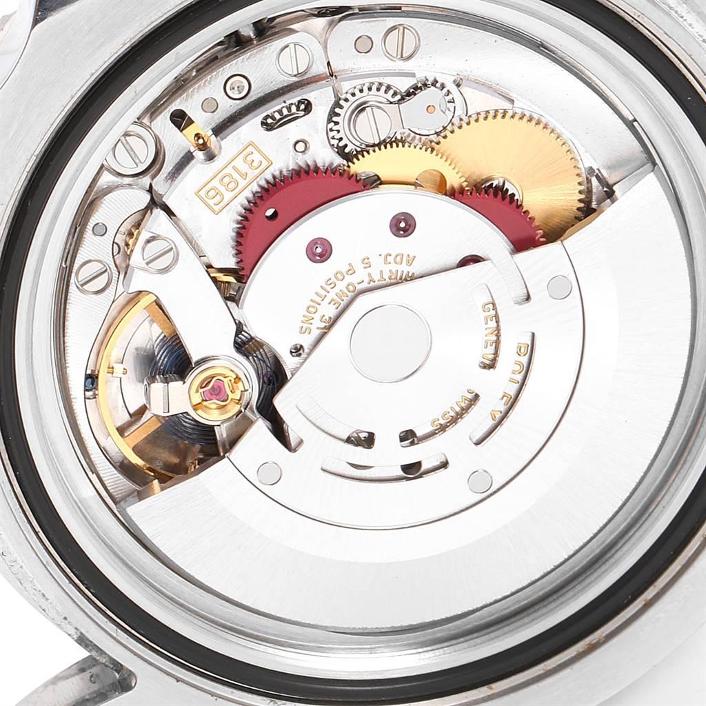 Rolex GMT Master II Green Hand Steel Mens Watch 116710 Box Card SwissWatchExpo