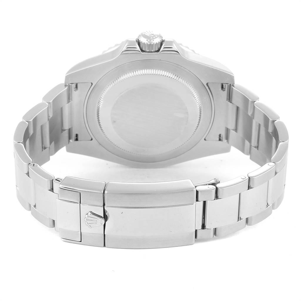 24623 Rolex GMT Master II 40mm Black Dial Green Hand Mens Watch 116710 SwissWatchExpo