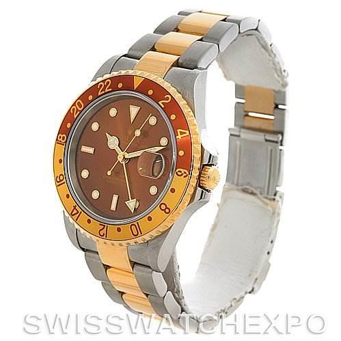 Rolex  GMT Master II Men's 18K SS Watch 16713 yr 2005 SwissWatchExpo