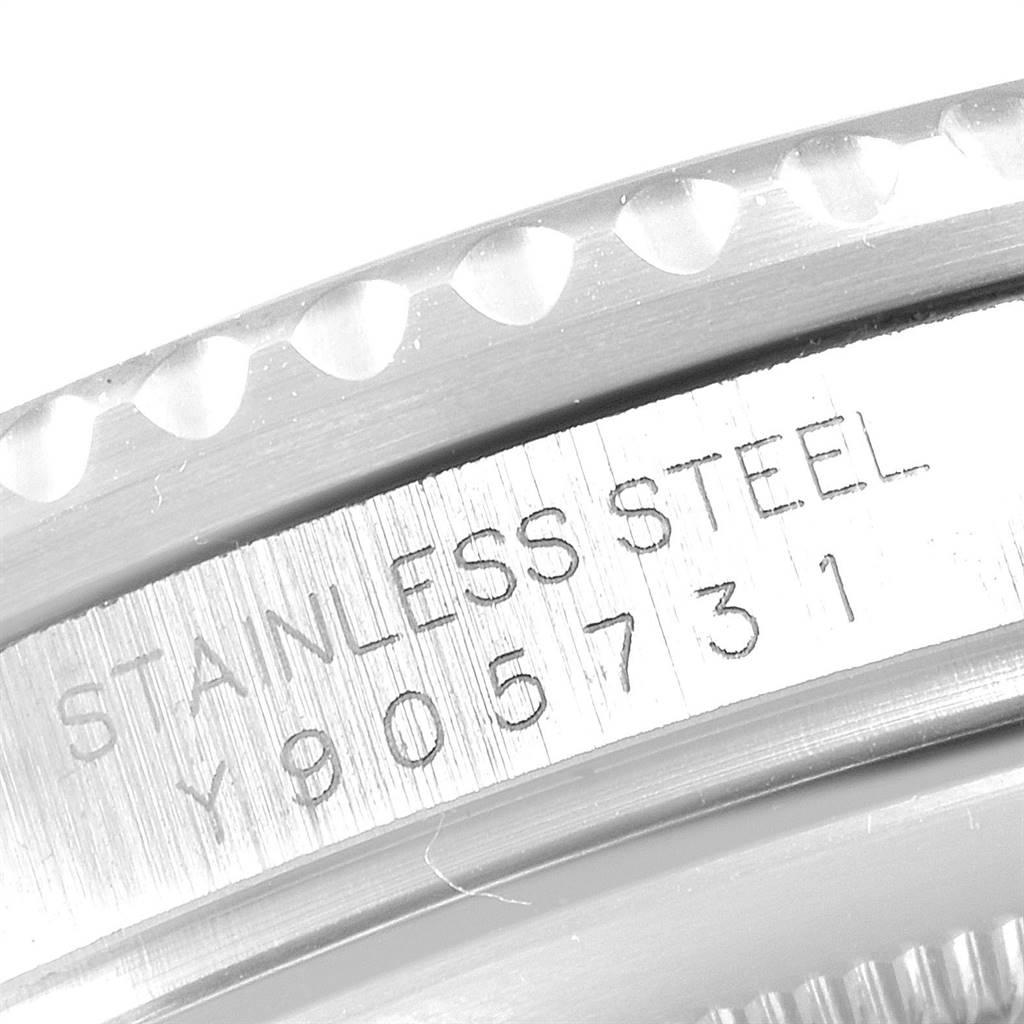 25267 Rolex GMT Master II 3 Coke Pepsi Black Bezel Inserts Mens Watch 16710 SwissWatchExpo