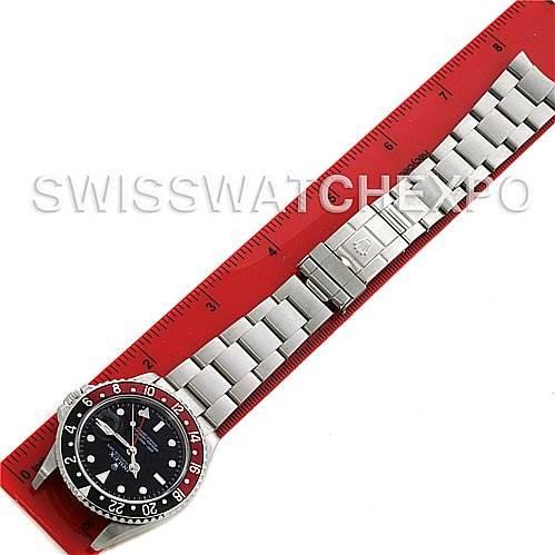 "Rolex GMT MASTER II MENS SS 16710 ""Z"" SERIAL CIRCA 2008 - ERROR DIAL SwissWatchExpo"