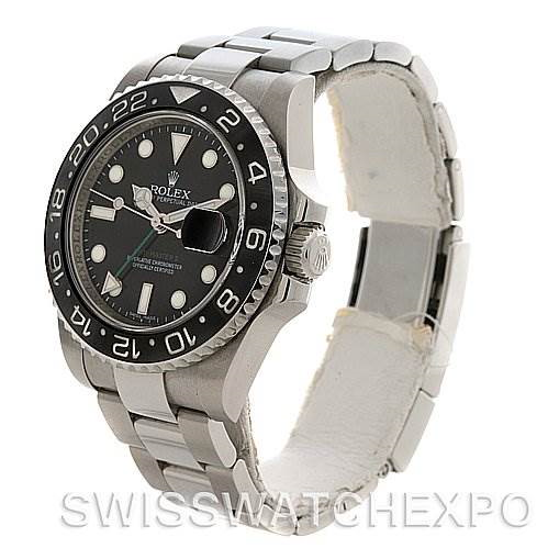 Rolex  GMT Master II Scrambled Number Watch 116710 y 2010 SwissWatchExpo