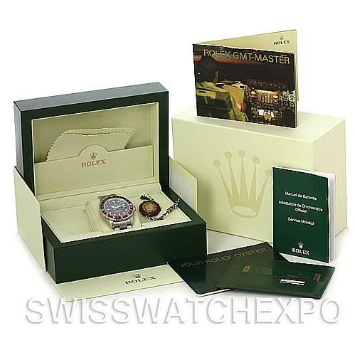 Rolex GMT Master II Coke Mens Watch 16710 Year 2007 SwissWatchExpo
