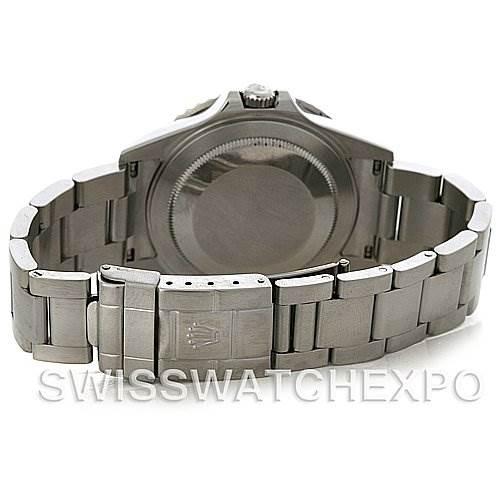 Rolex GMT Master II Mens Steel 16710 Sport Watch SwissWatchExpo