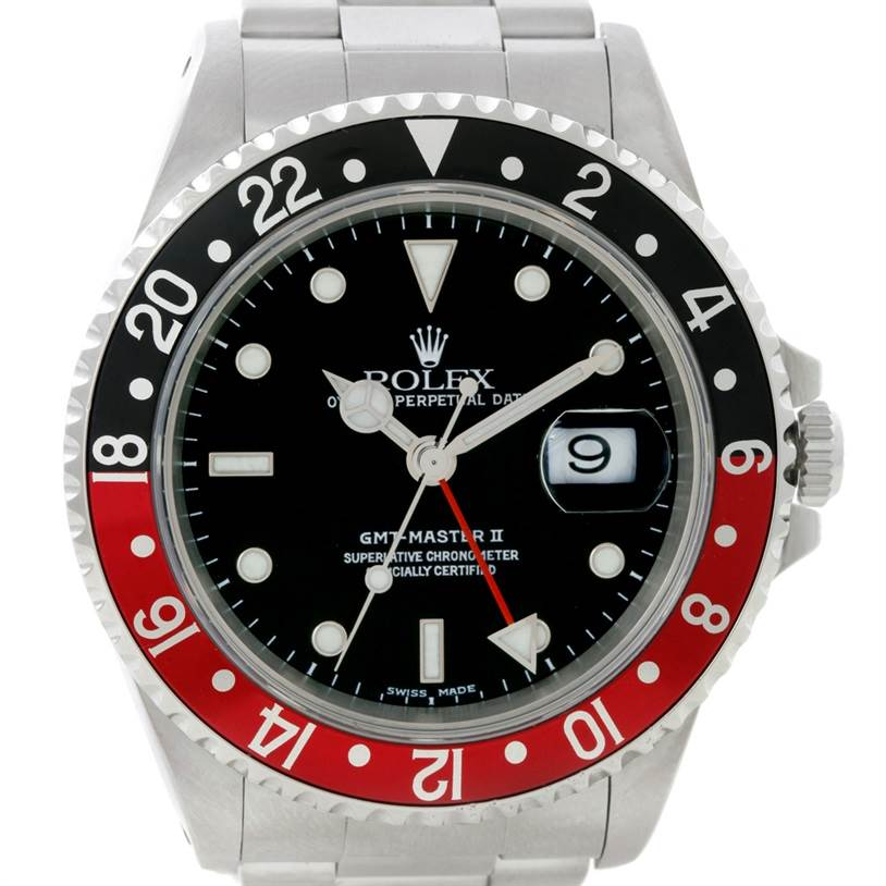 WR629 Rolex Gmt-master II Steel Mens Watch SwissWatchExpo