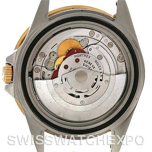 Rolex GMT Master II Men's 18k and Steel Watch 16713 SwissWatchExpo