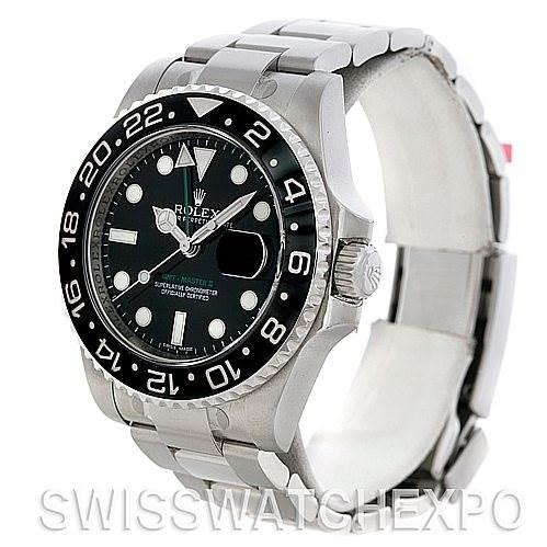 Rolex GMT Master II 116710 Steel Ceramic Men's Watch SwissWatchExpo