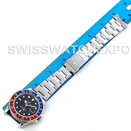 5897 Rolex GMT Master II Mens Steel Watch 16700  SwissWatchExpo