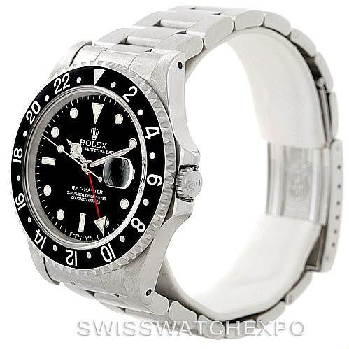 Rolex GMT Master II Mens Steel Watch 16700 Unworn SwissWatchExpo