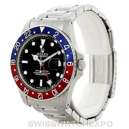 Rolex GMT Master Vintage Steel Mens Watch 16750 Year 1979 SwissWatchExpo