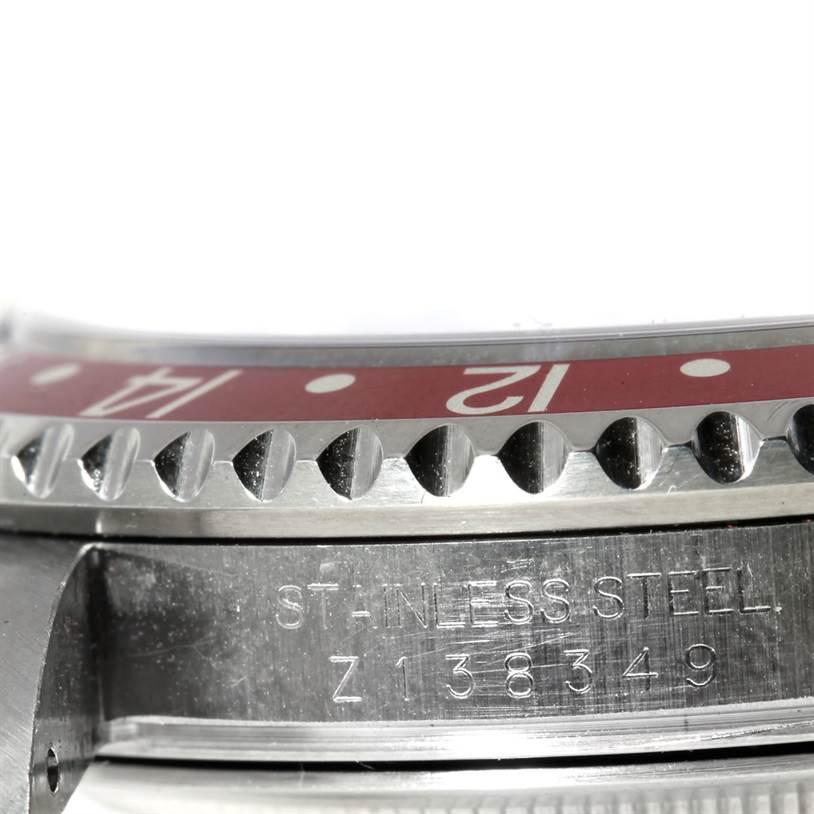 Rolex GMT Master II Coke Bezel Mens Watch 16710 SwissWatchExpo