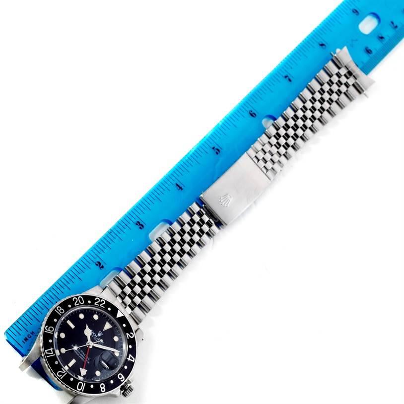 Rolex GMT Master Vintage Stainless Steel Mens Watch 16750 SwissWatchExpo
