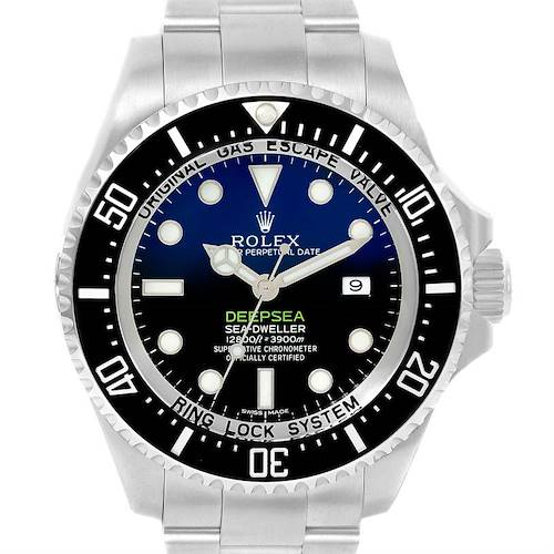 Photo of Rolex Seadweller Deepsea Cameron D-Blue Dial Watch 116660 Box Papers