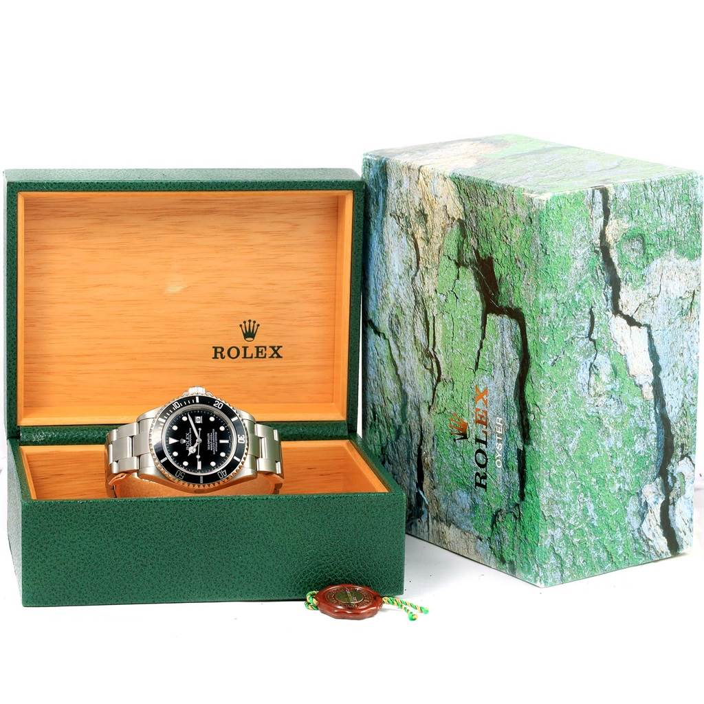 13342 Rolex Seadweller Stainless Steel 40mm Automatic Mens Watch 16600 SwissWatchExpo