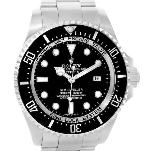 Photo of Rolex Seadweller Deepsea Ceramic Bezel Mens Watch 116660 Box Papers