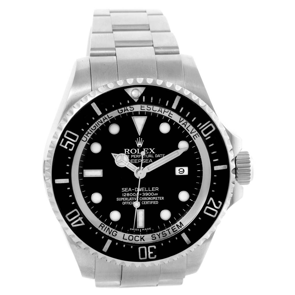 7eafaa4a3f5 ... 19387 Rolex Seadweller Deepsea Ceramic Bezel Steel Mens Watch 116660  SwissWatchExpo ...