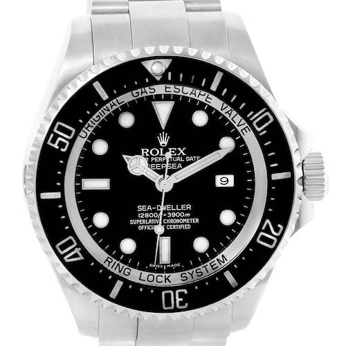 Photo of Rolex Seadweller Deepsea Ceramic Bezel Steel Mens Watch 116660
