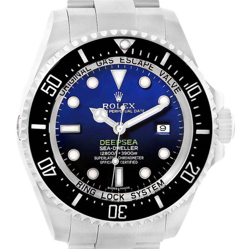 Rolex Seadweller Deepsea Cameron D-Blue Dial Mens Watch 116660 Box Card SwissWatchExpo