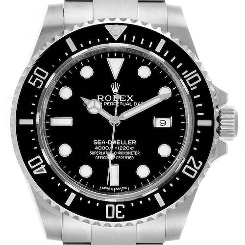 Photo of Rolex Seadweller 4000 Stainless Steel Mens Date Watch 116600