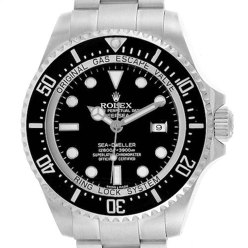 Photo of Rolex Seadweller Deepsea 44 Ceramic Bezel Mens Watch 116660 Box Card