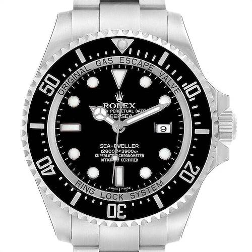 Photo of Rolex Seadweller Deepsea Ceramic Bezel Mens Watch 116660 Unworn