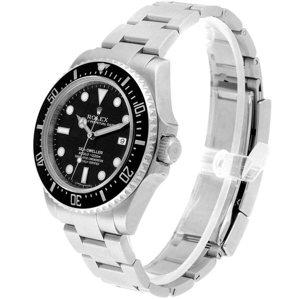 22501 Rolex Seadweller 4000 Automatic Steel Mens Watch 116600 SwissWatchExpo
