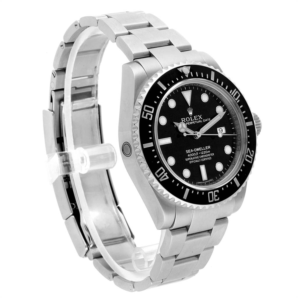 Rolex Seadweller 4000 Automatic Steel Mens Watch 116600 SwissWatchExpo