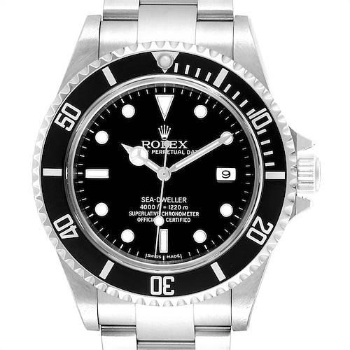 Photo of Rolex Seadweller 40mm Black Dial Steel Mens Watch 16600