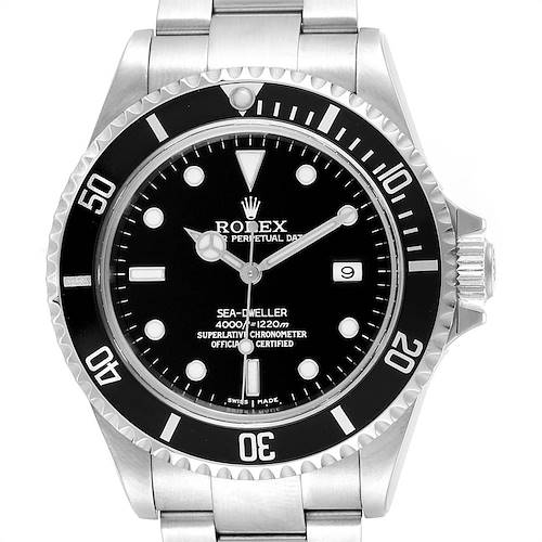 Photo of Rolex Sea-dweller Black Dial Automatic Steel Mens Watch 16600