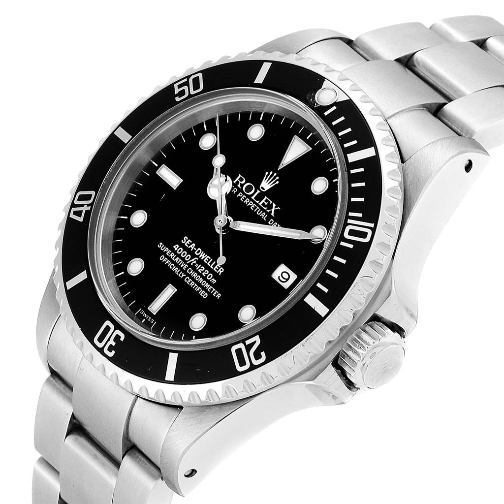 Rolex Seadweller 40 Automatic Steel Mens Watch 16600 SwissWatchExpo