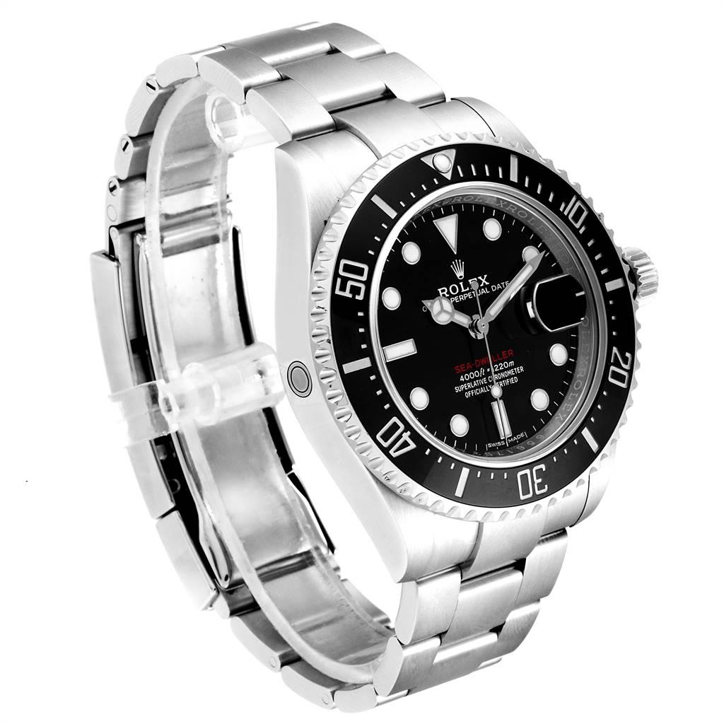 24135 Rolex Seadweller 43mm 50th Anniversary Steel Mens Watch 126600 Box  SwissWatchExpo